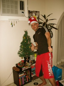 Timm an Weihnachten in Australien