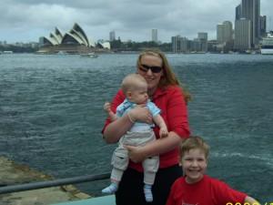 Antje in Sydney