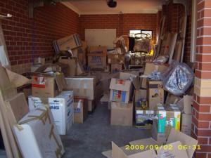 Unsere Garage in Australien