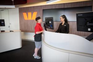 australisches Bankkonto von Westpac