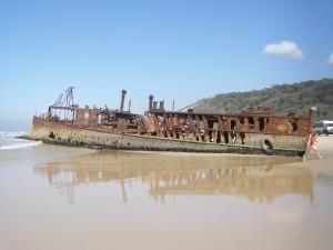 Fraser Island - Wrack