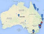 Interaktive Australien Karte – die besten Locations