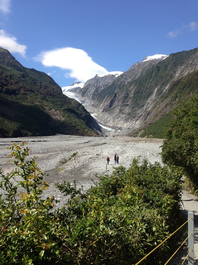 Bergtour in Neuseeland