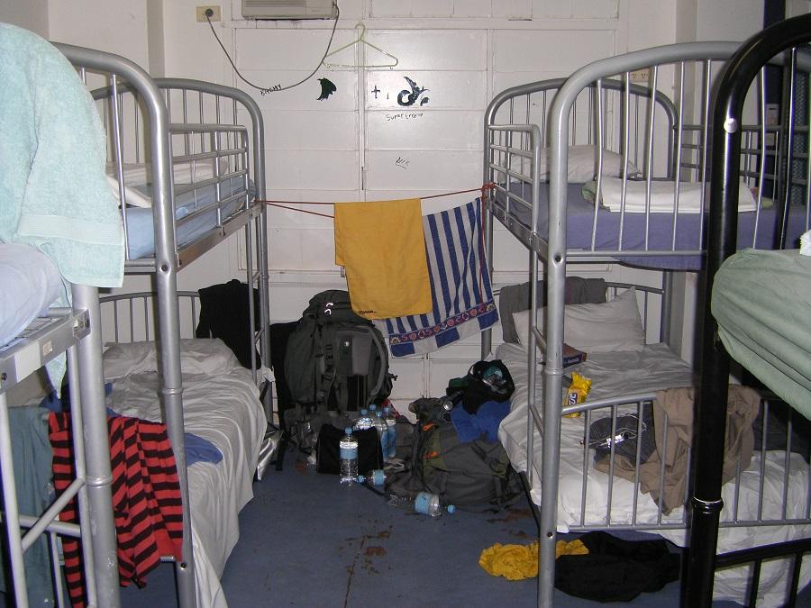 Zimmer im Hostel
