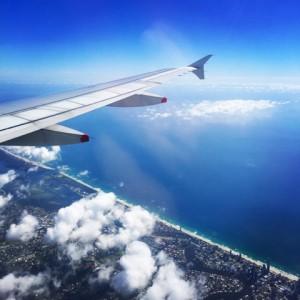 Flugzeug über Australien