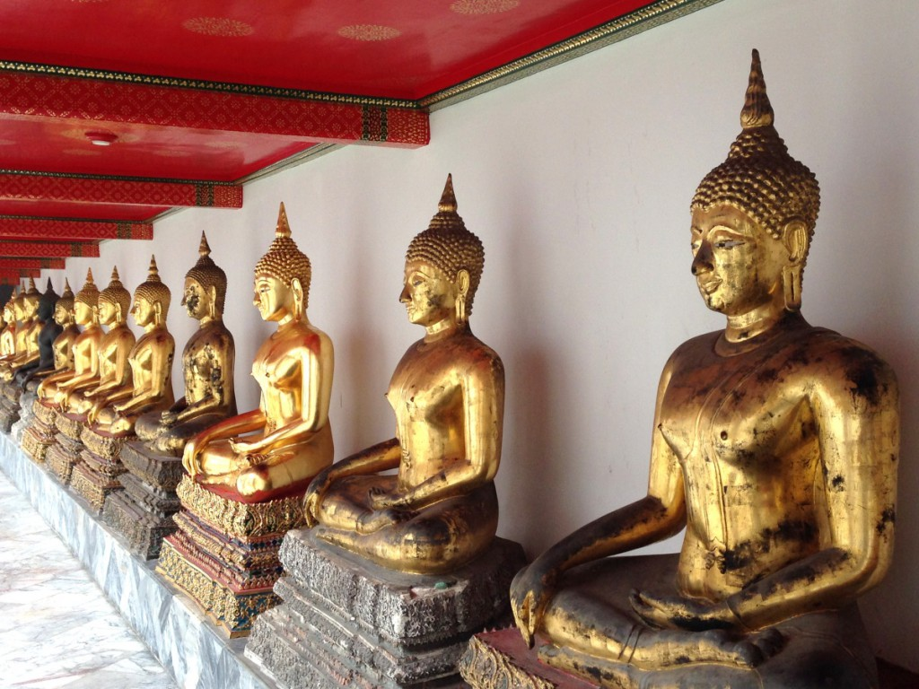 Tempelstatuen, Bangkok