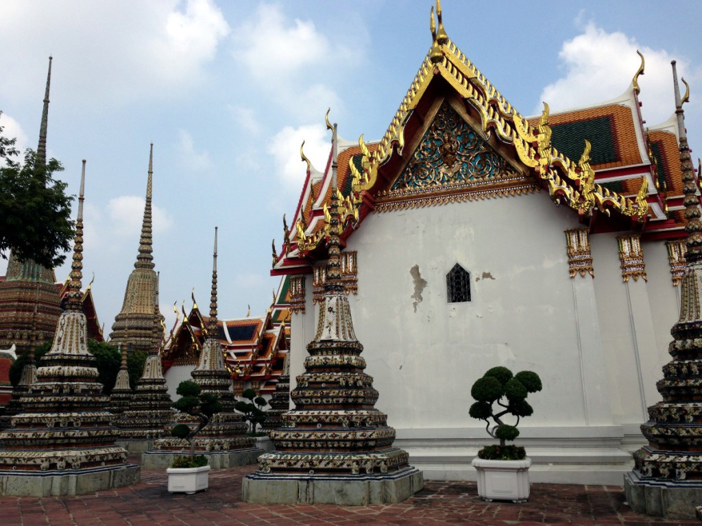 wat-pho-tempel, bangkok