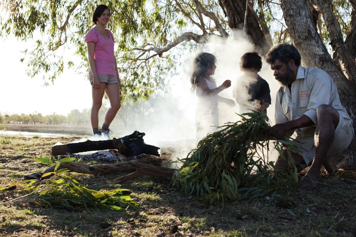 Lagerfeuer auf Buschtour