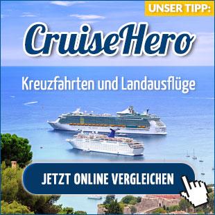 Kreuzfahrten Preisvergleich - Cruisehero.de