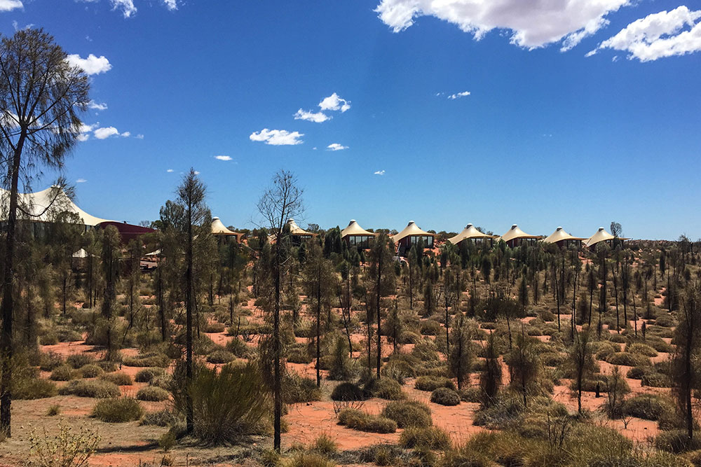 Hotel Longitude131, Zelte im australischen Outback