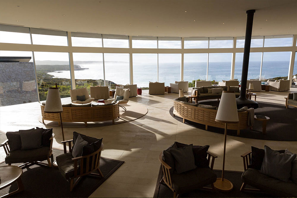 Southern Ocean Lodge, Haupthaus