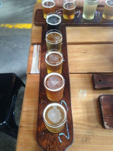 Tatsing Paddle mit Craft Beer