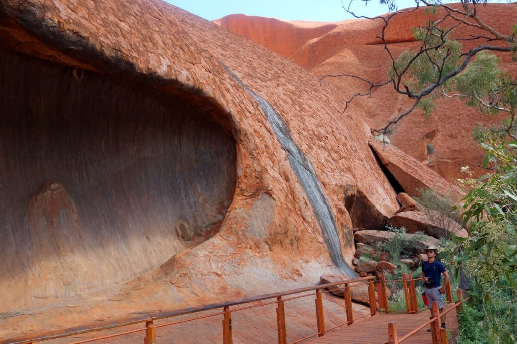 Weg am Uluru