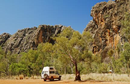 Campervan in Australien
