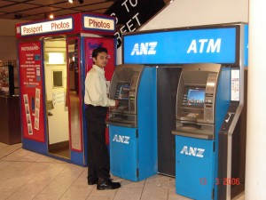 ANZ ATMs - Geldautomaten