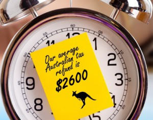 australische Steuern zurück - Taxback