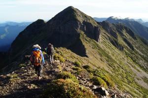 bergwandern in taiwan