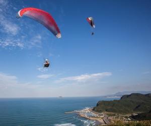 Gleitschirm fliegen, Taiwan