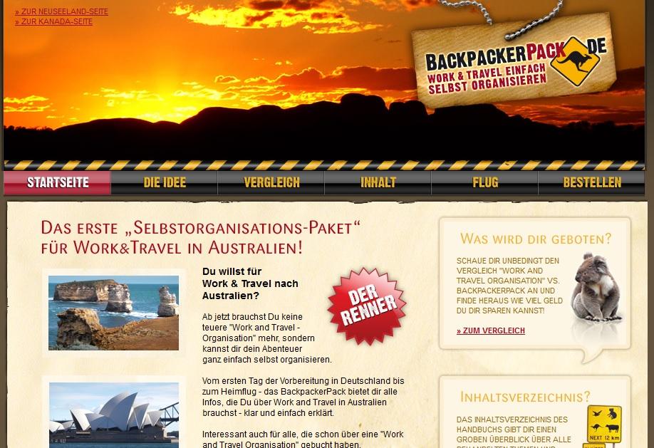 BackpackerPack Erfahrungsbericht