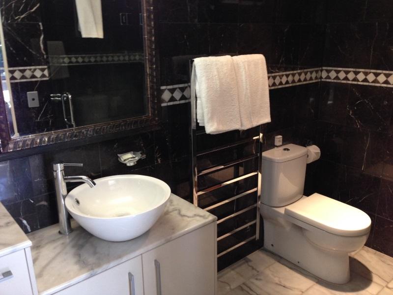 Badezimmer-Hotel