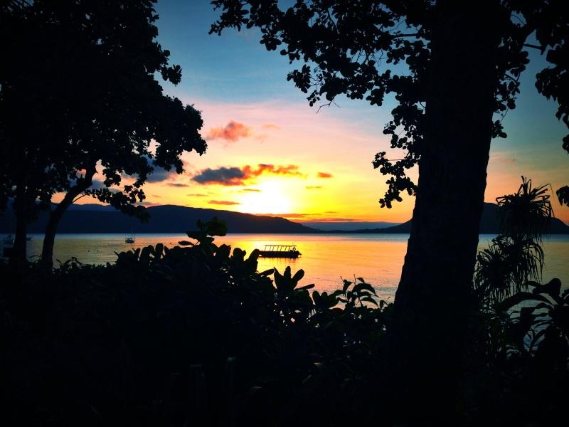 Fitzroy Island-Sonnenuntergang