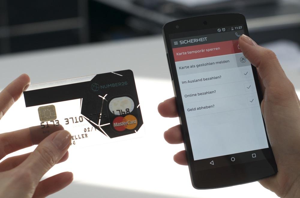 Bankkarte per App beantragen