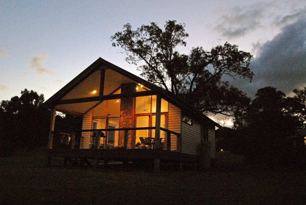 australisches cottage, Stein der Schildkröte
