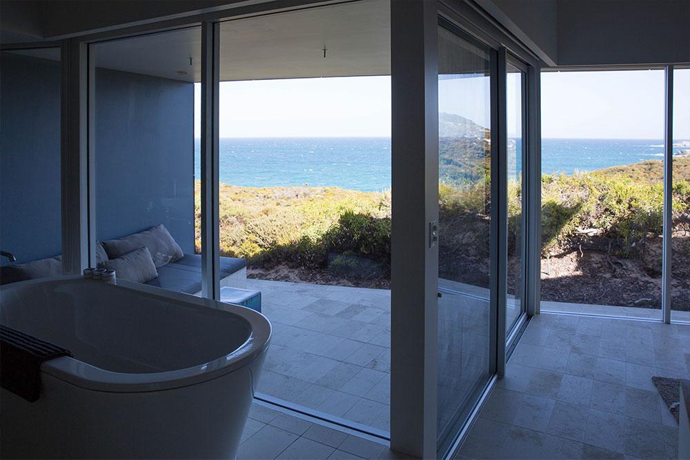 Southern Ocean Lodge, Bad in der Villa