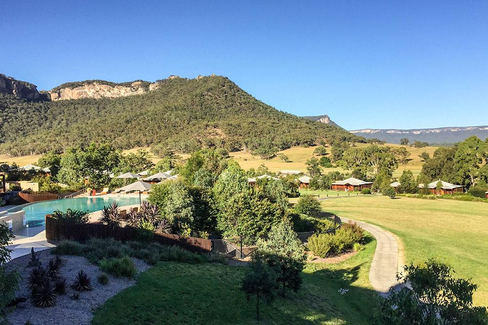 Wolgan Valley, Pool & Villas
