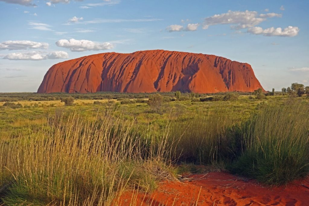 Sonnenuntergang am Ayers Rock