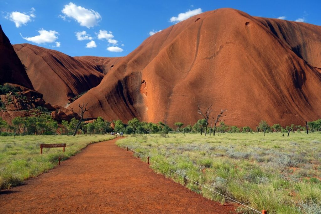 Wanderung am Uluru