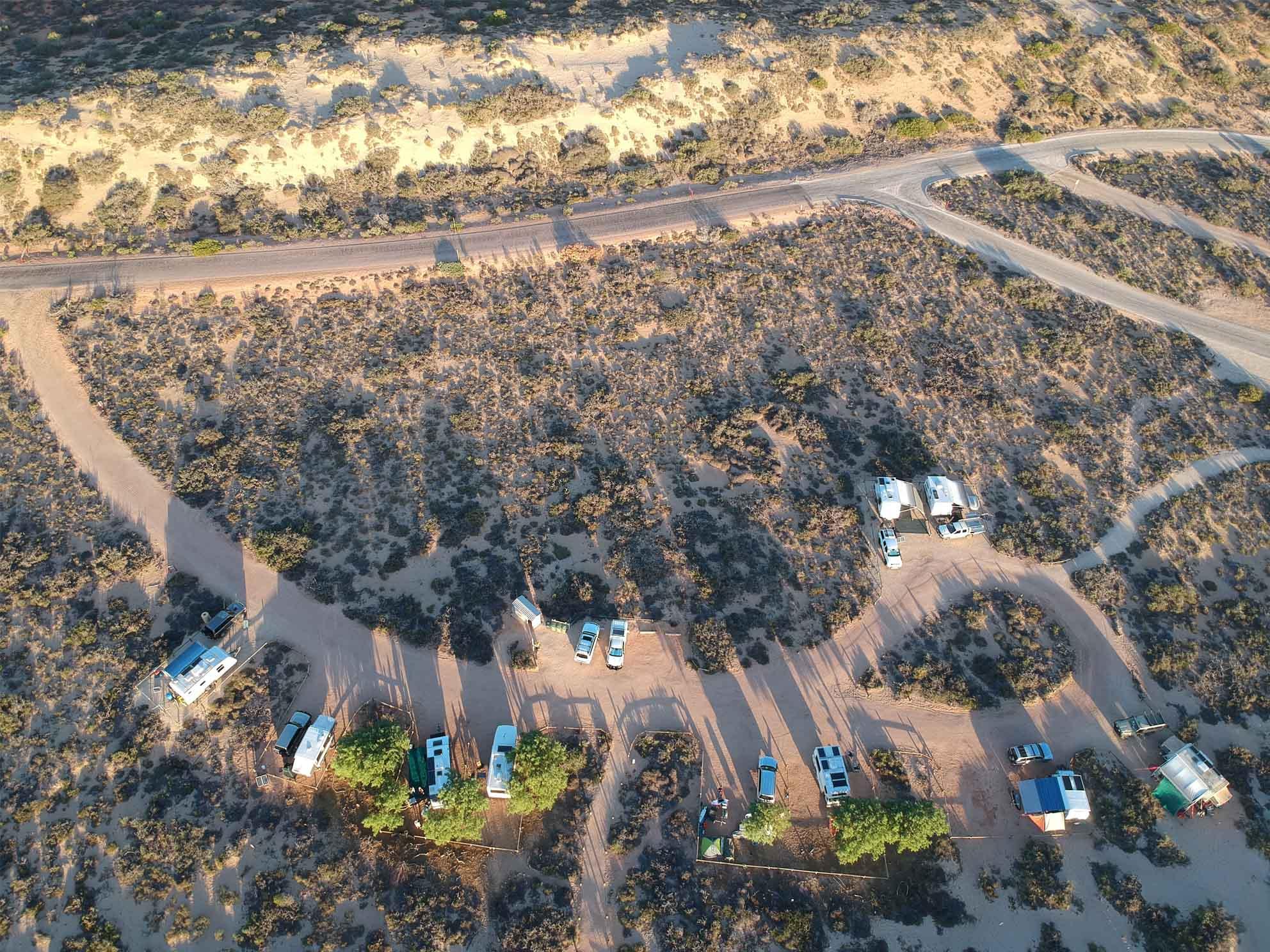 Cape Range Campingplatz (Yardie Creek)