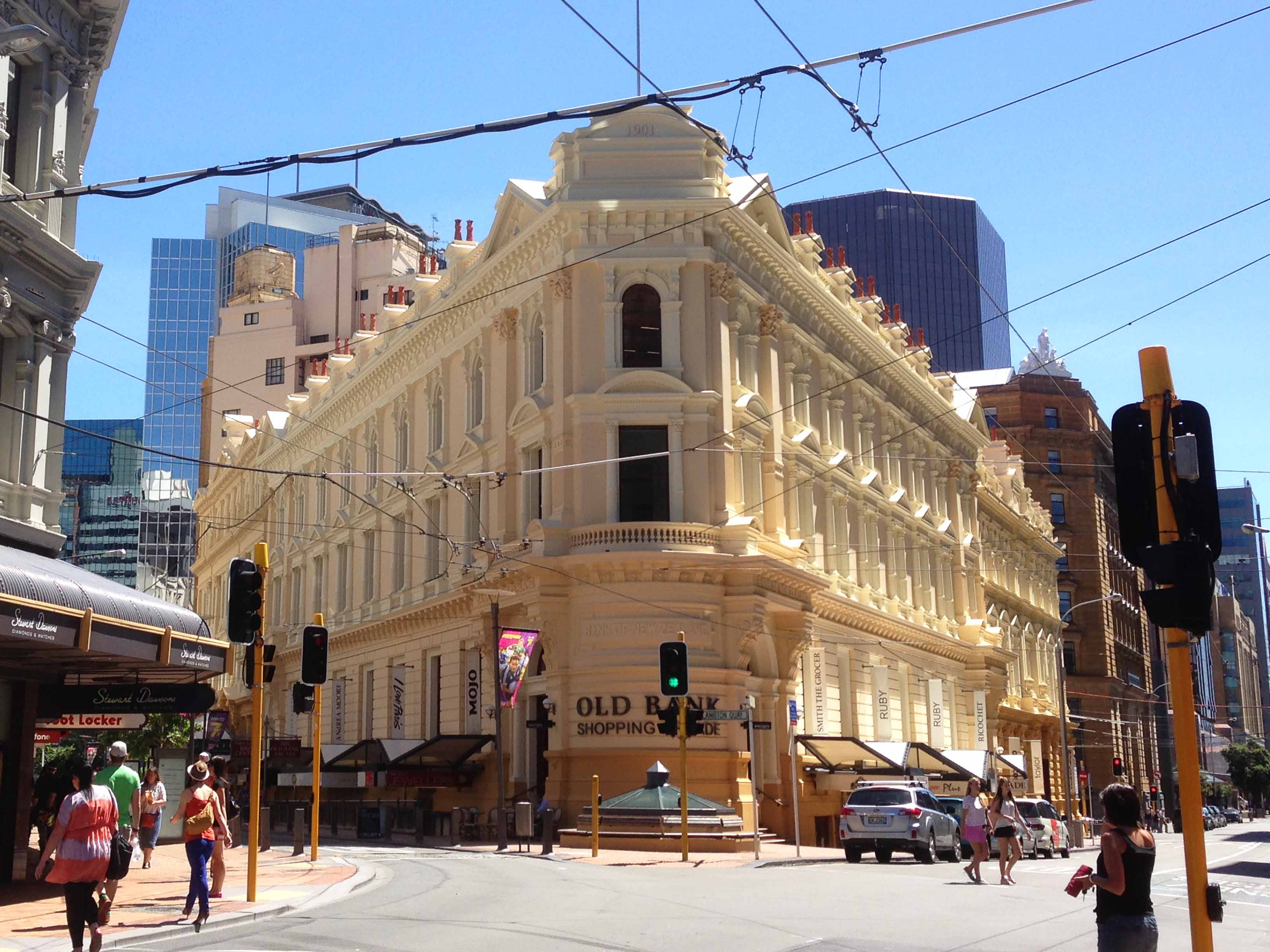 Neuseeland Old Bank