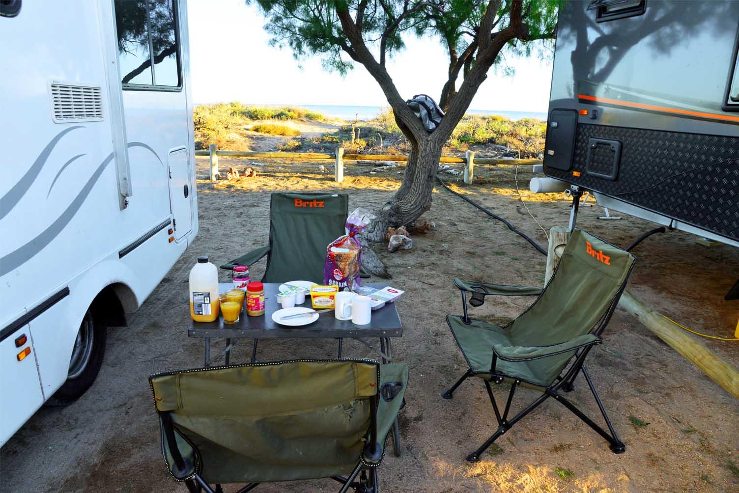 Einkaufen fürs Camper Meal