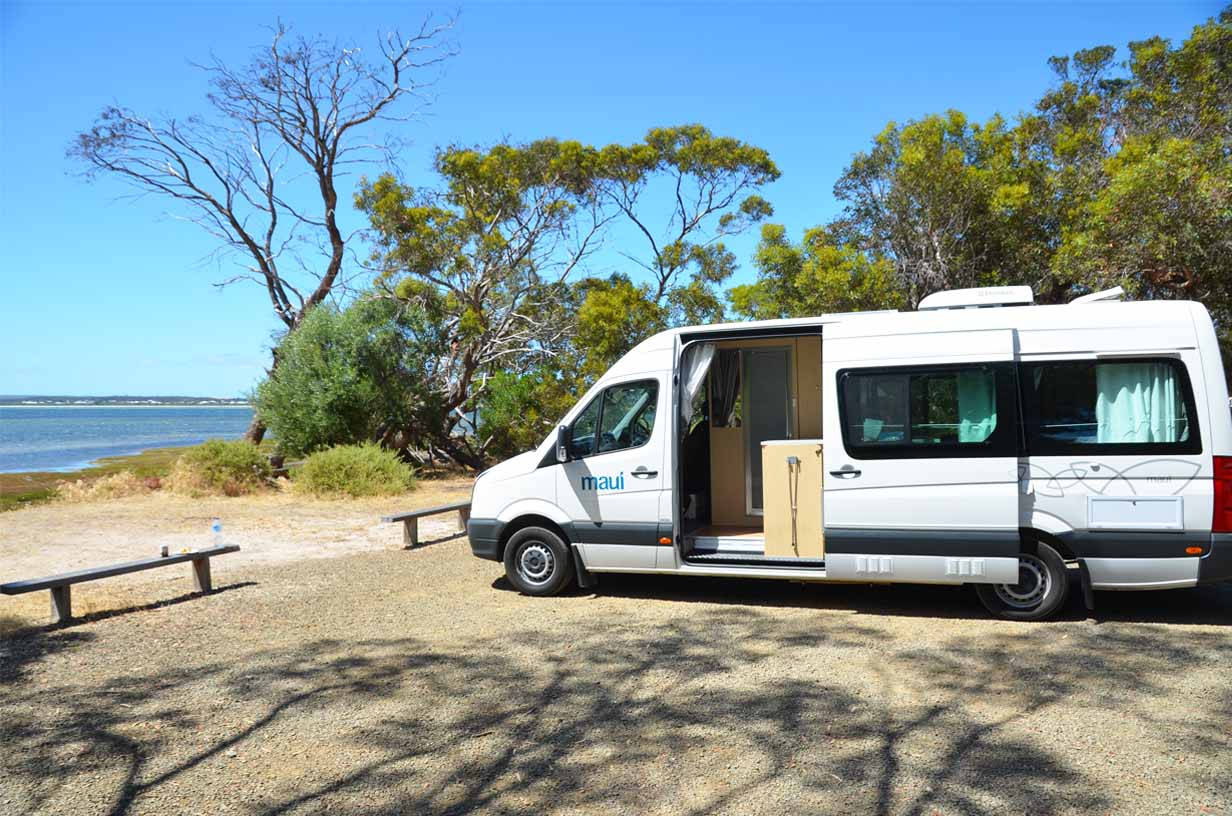 How to camp in Australien