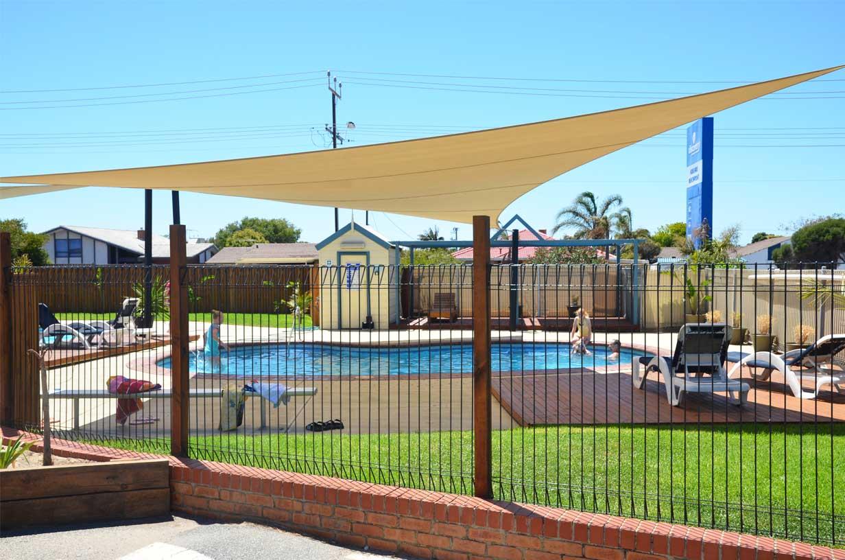 Luxuriöser Campingplatz in Australien