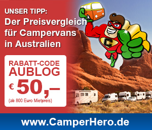 Preisvergleich für Campervans Australien